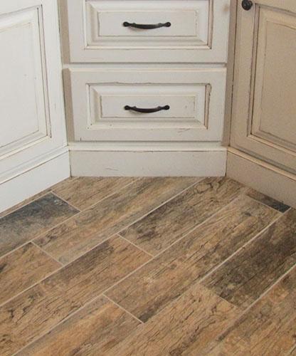 Tile Wood Flooring Castlerock Homes Custom Homes In East Idaho - What color wood floors are in style